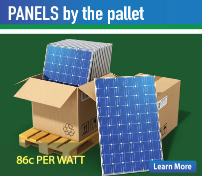 Special Pricing on full pallet and half pallet quantities