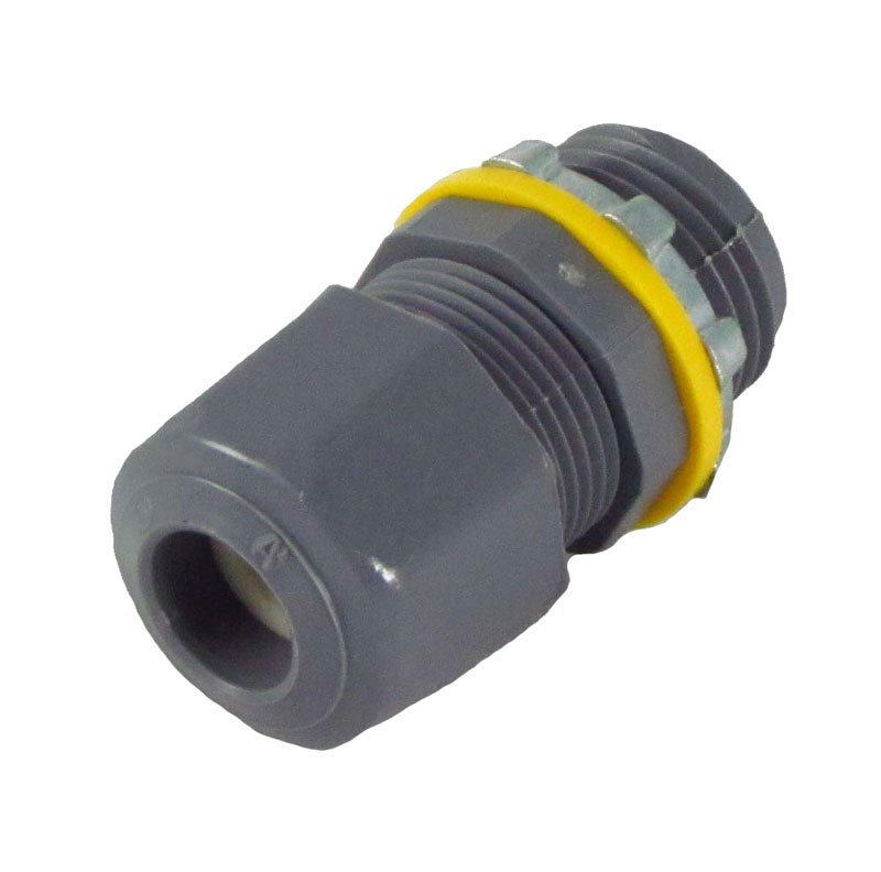 "Waterproof Strain Relief 1/2"" thread 2 holes for PV Wire 0.2"" to 0.27"""