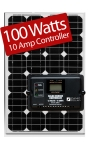 Zamp Solar 100W RV kit ZS-100-10A 100 Watt Kit/10 Amp Controller
