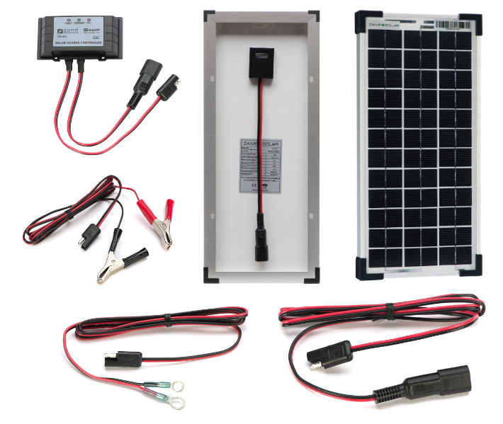 Zamp Solar 10w Prepackaged Kit Zs 10 Ppk