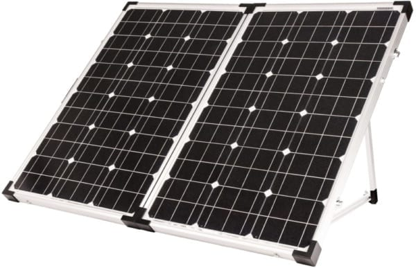 Go Power! 120-WATT PORTABLE SOLAR KIT