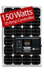 Zamp Solar 150W RV kit ZS-150-10A 150 Watt Kit/10 Amp Controller