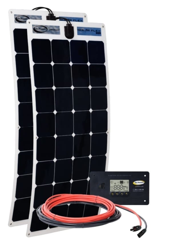 500 WATT FLEXIBLE SOLAR KIT