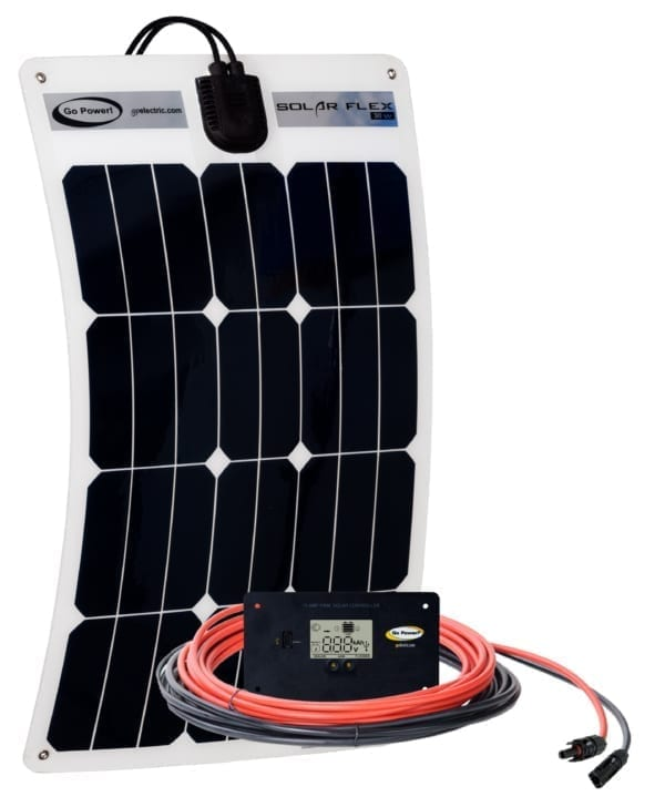 30-WATT FLEXIBLE SOLAR KIT