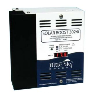 Blue Sky Energy, Solar Boost 3024DiL, MPPT Charge Controller, 30 Amp 12v or 24v, w/display, SB3024DiL