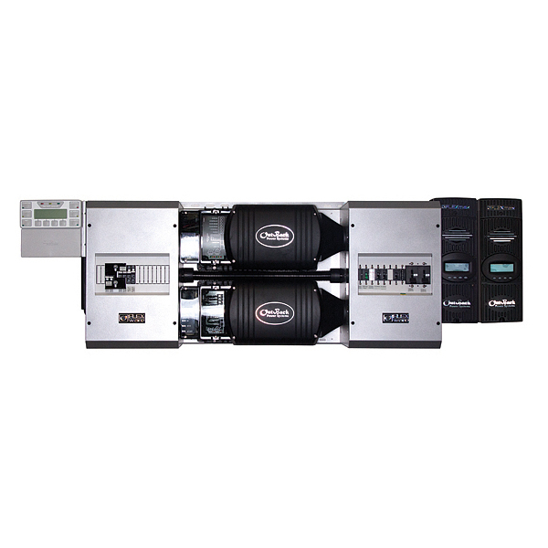 Pre-wired dual-inverter FM100 system, 5.0 kW 120/240 VAC, 24 VDC