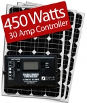 Zamp Solar 450W RV kit ZS-450-30A 450 Watt Kit/30 Amp Controller