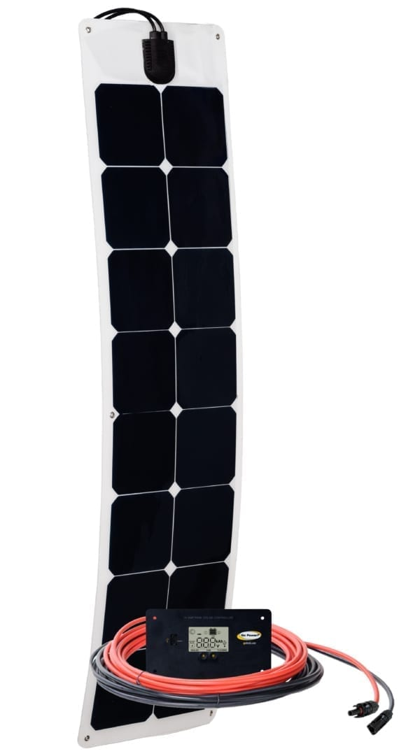 50 WATT FLEXIBLE SOLAR KIT