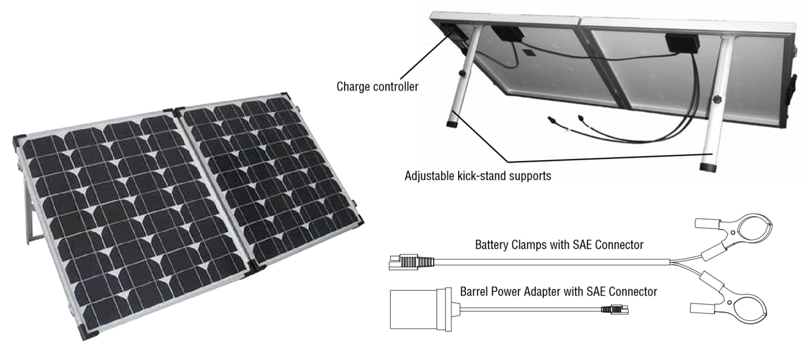 Sierra Wave 120 W Portable Solar Kit