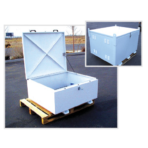 DPW Alum Battery Box Enclosure L16 x 16 (2x8)