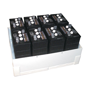 HD Plastic  Battery Box Enclosure L16x4