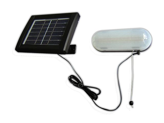 Deluxe Solar LED Shed Light Kit