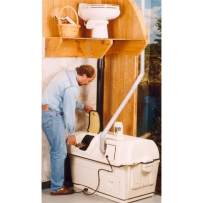 Sun-Mar Centrex 2000 High Capacity Composting Toilet Electric