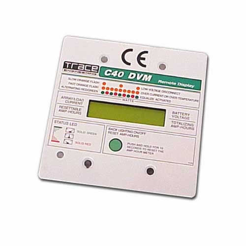 Xantrex CM/R100 R-100 Remote Meter Display for C Series Charge Controllers