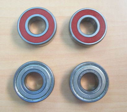 Southwest Windpower Whisper 200 Replacement Sealed Bearing 6204 (4 Bearings Required Per Turbine)
