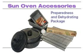 GLOBAL SUN OVEN® Dehydrating and Preparedness Accessory Package