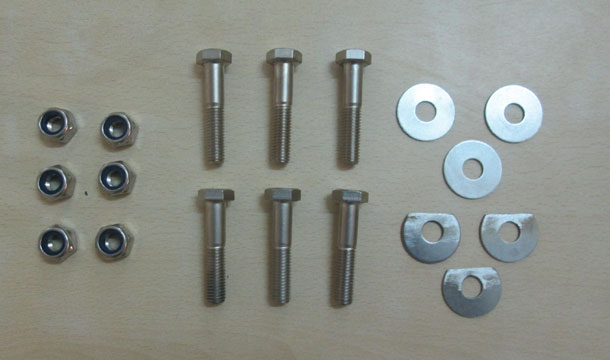 Southwest Windpower Whisper 100 Blade Bolt Hardware Kit