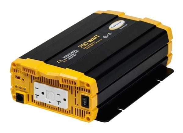 Go Power! 700 WATT INDUSTRIAL PURE SINE WAVE INVERTER WITH 24V INPUT