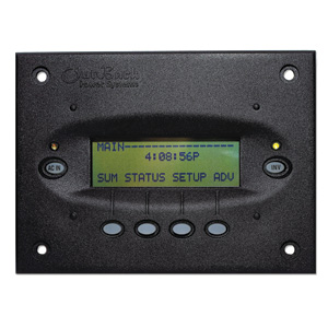 OutBack Power MATE2 Flush Mount Digital Display and System Control