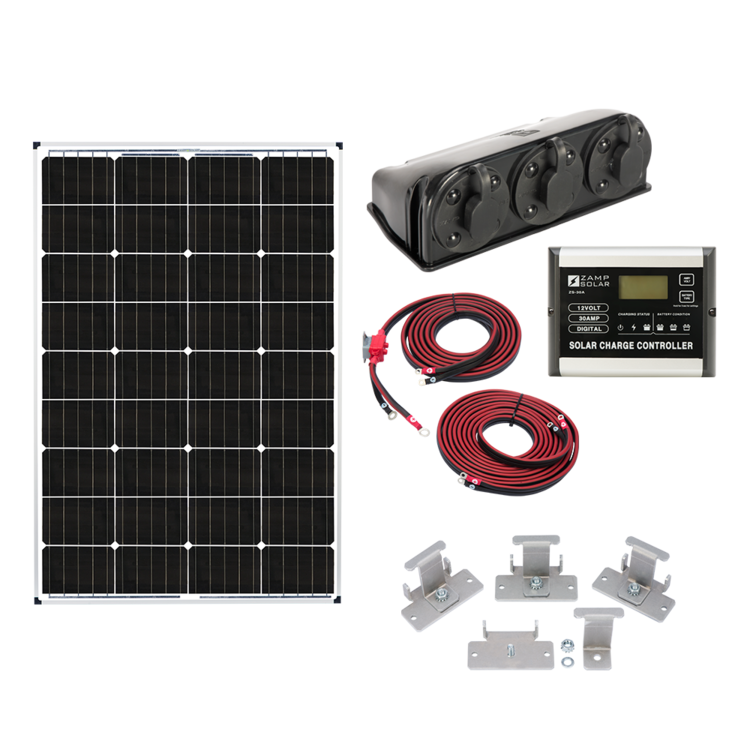 Zamp Solar US 115-Watt Deluxe Kit
