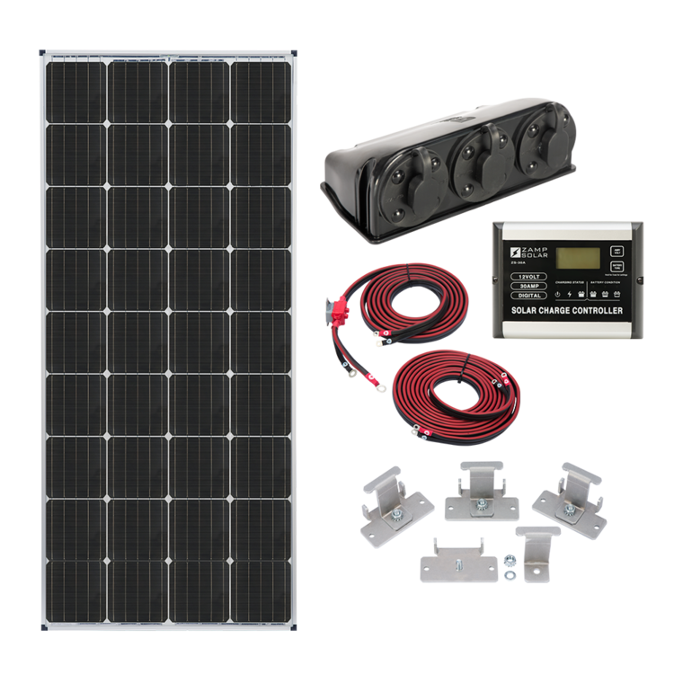 Zamp Solar Us 170 Watt Expansion Kit