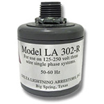 LA303R Delta Lightning Arrestor to 0-300VAC 3 Phase