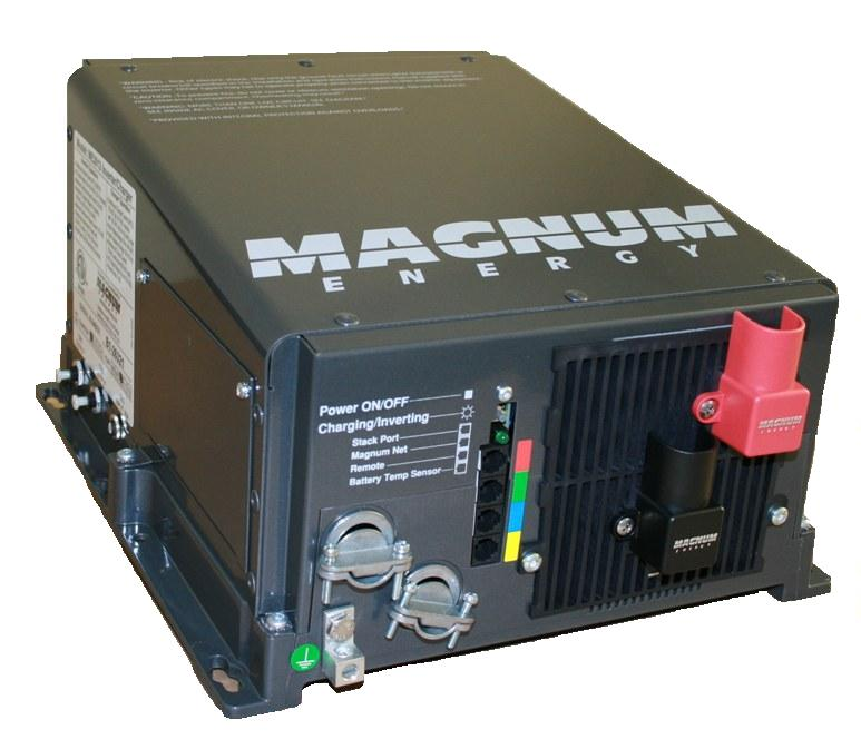 Magnum Energy ME2512, 2500 Watt, 12 VDC, RV Marine Inverter, 120amp charger