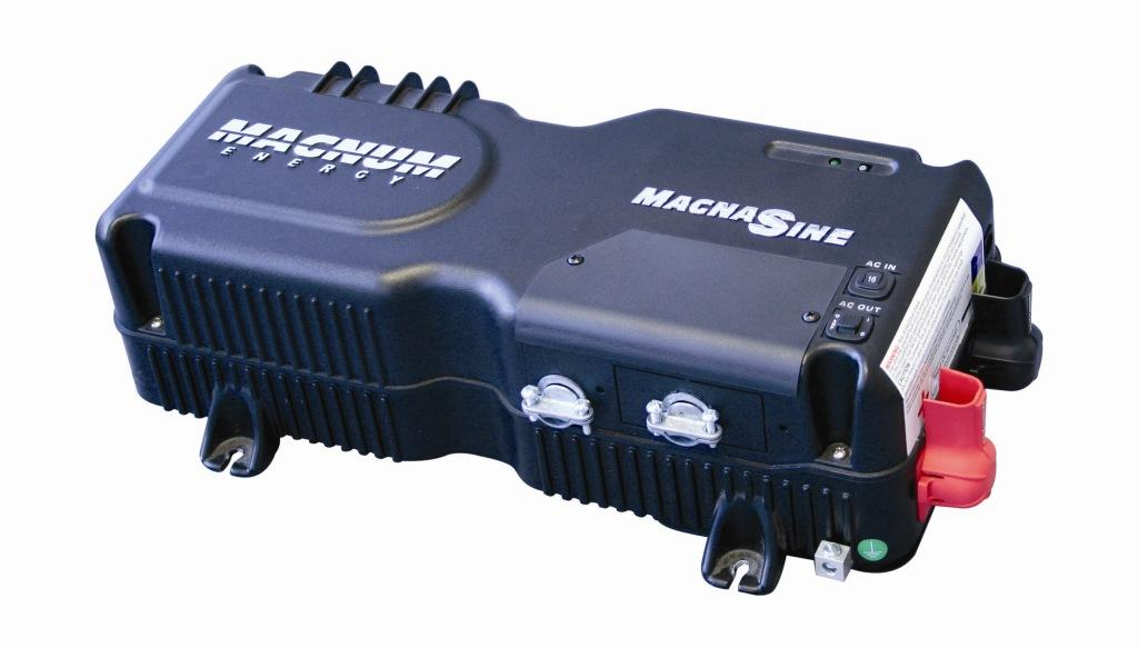 Magnum Energy MMS1012, 1000 Watt, 12 V, Pure Sine Inverter with 50amp Charger