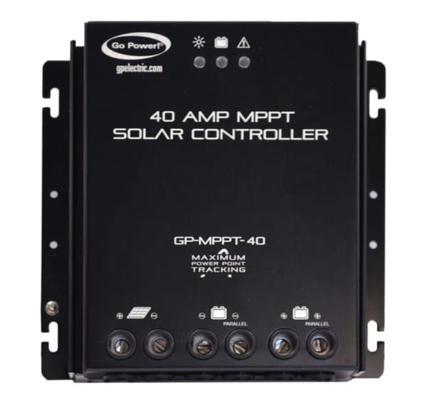 Go Power! 40 AMP MPPT SOLAR CONTROLLER WITH REMOTE