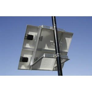 "Side of Pole Mount for 2x Type C Solar Modules 22-27"" x 56-63"""