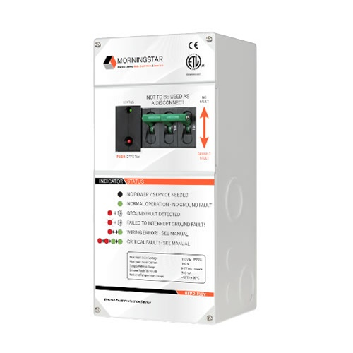 Morningstar GFPD-150V DC Ground Fault Protection Device