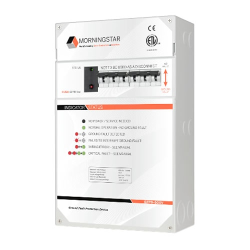 Morningstar GFPD-600V  DC Ground Fault Protection Device