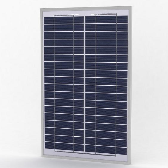 Solarland 20w 12v Polycrystalline Solar Panel Slp020 12u