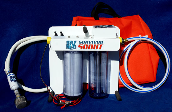 Uv Water Filtration Systems Model Survivor Scout Pro