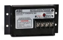 Specialty Concepts ASC 12/12E, PWM Charge Controller, 12 amps, 12 volts, w/LVD