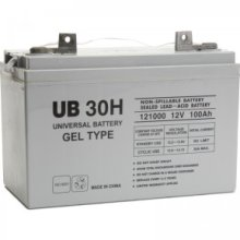 UPG UB-30H GEL Sealed Lead Acid (GEL) Battery- 12 volt 100 amps