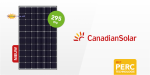18 x CS6K-295MS-Black Canadian Solar 295W PV Module