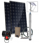 Grundfos SQFlex Pre-designed Solar Water Pumping Kit using 3 sqf-2 pump 2.8 to 2 gpm, 35 to 395 feet lift