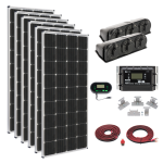 Zamp Solar US 1020-Watt Deluxe Kit