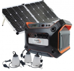 Sierra Wave Enerplex Power/Solar with Led Lights Bundle Kit