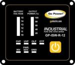Go Power! INDUSTRIAL PURE SINE WAVE INVERTER REMOTE 12V GP-ISW-R-12
