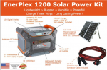 Sierra Wave Enerplex Solar Power Kit