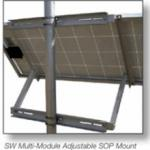 General Specialties Side of Pole Mount up to 2 x 160w panel SOP-S
