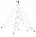 60' Tilt Guyed Tower Kit for Bergey Excel 1
