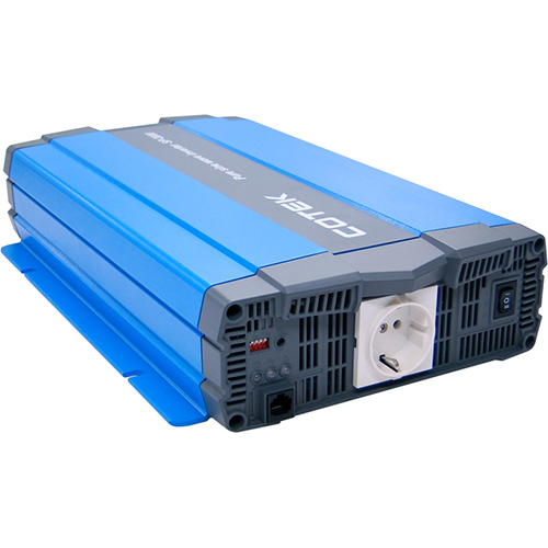 Cotek SP1000-124 1000w, 24VDC, 115VAC Pure Sine Wave Inverter