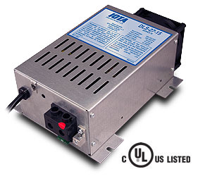 IOTA DLS-27/15, 24 volt 15 amp regulated battery charger/supply