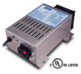 IOTA DLS-27/40, 24 volt 40 amp regulated battery charger/supply