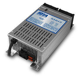 IOTA DLS-54/13, 48 volt 13 amp regulated battery charger/supply