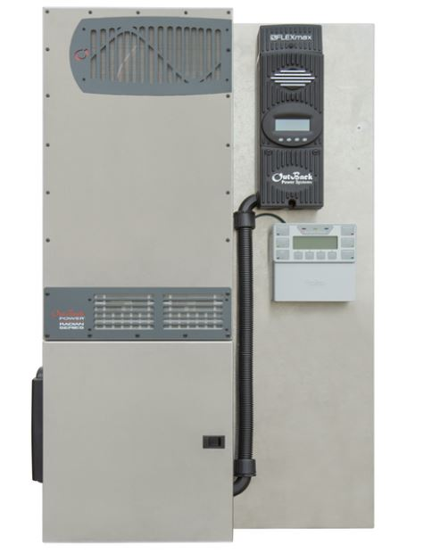 Outback Flexpower Radian FPR-4048a Pre-wired System, 4KW, 120/240VAC, 48VDC 1 X