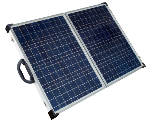 SolarLand 80w 12v Portable Foldable Solar Panel Charging Kit SLP080F-12S